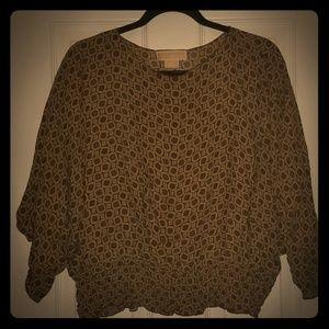 MICHAEL Michael Kors | 100% Silk Crop Top